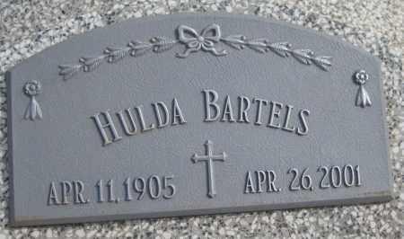 BARTELS, HULDA - Saline County, Nebraska | HULDA BARTELS - Nebraska Gravestone Photos