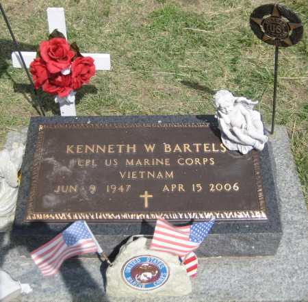 BARTELS, KENNETH W. - Saline County, Nebraska | KENNETH W. BARTELS - Nebraska Gravestone Photos