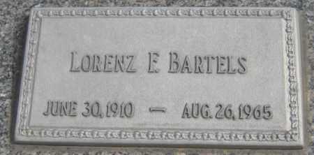 BARTELS, LORENZ F. - Saline County, Nebraska   LORENZ F. BARTELS - Nebraska Gravestone Photos