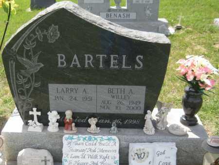 BARTELS, LARRY A. - Saline County, Nebraska | LARRY A. BARTELS - Nebraska Gravestone Photos