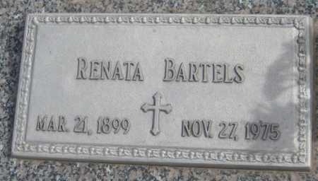 BARTELS, RENATA - Saline County, Nebraska | RENATA BARTELS - Nebraska Gravestone Photos