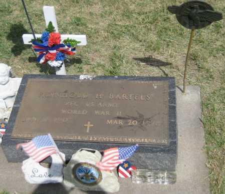 BARTELS, REINHOLD H. - Saline County, Nebraska | REINHOLD H. BARTELS - Nebraska Gravestone Photos