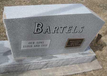 BARTELS, LETHA - Saline County, Nebraska | LETHA BARTELS - Nebraska Gravestone Photos