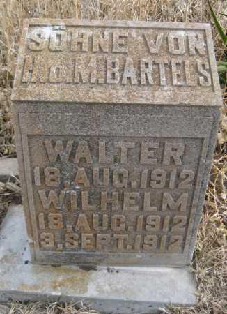 BARTELS, WILHELM - Saline County, Nebraska | WILHELM BARTELS - Nebraska Gravestone Photos