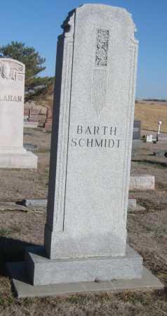 SCHMIDT, FAMILY MONUMENT - Saline County, Nebraska | FAMILY MONUMENT SCHMIDT - Nebraska Gravestone Photos