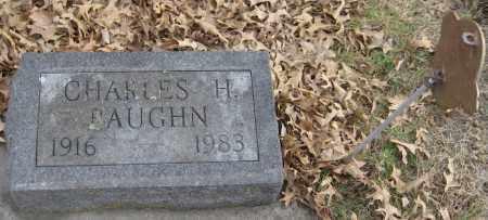 BAUGHN, CHARLES H. - Saline County, Nebraska | CHARLES H. BAUGHN - Nebraska Gravestone Photos