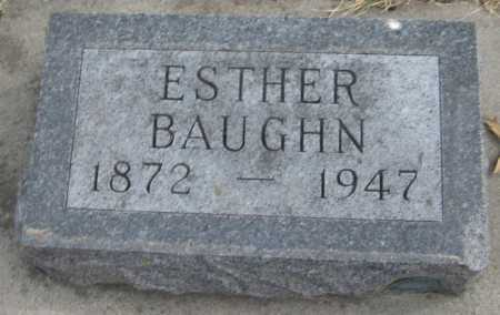 BAUGHN, ESTHER - Saline County, Nebraska | ESTHER BAUGHN - Nebraska Gravestone Photos