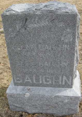 BAUGHN, ALICE - Saline County, Nebraska | ALICE BAUGHN - Nebraska Gravestone Photos