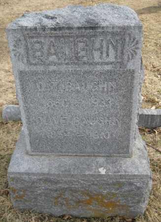 BAUGHN, O. T. - Saline County, Nebraska | O. T. BAUGHN - Nebraska Gravestone Photos