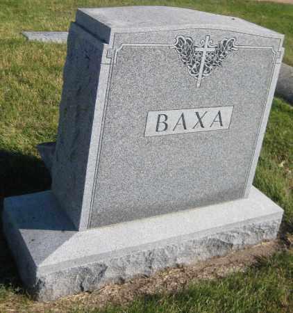 BAXA, FAMILY MONUMENT - Saline County, Nebraska | FAMILY MONUMENT BAXA - Nebraska Gravestone Photos