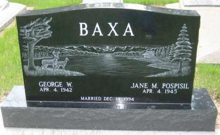 BAXA, JANE M. - Saline County, Nebraska | JANE M. BAXA - Nebraska Gravestone Photos