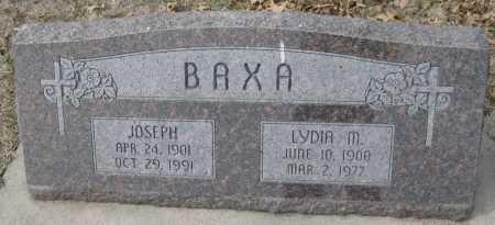 BAXA, JOSEPH - Saline County, Nebraska | JOSEPH BAXA - Nebraska Gravestone Photos