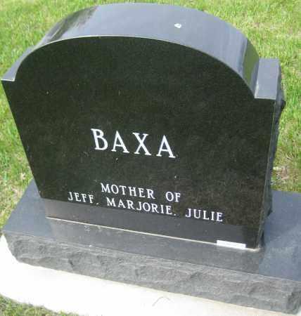 BAXA, PAULETTA - Saline County, Nebraska   PAULETTA BAXA - Nebraska Gravestone Photos