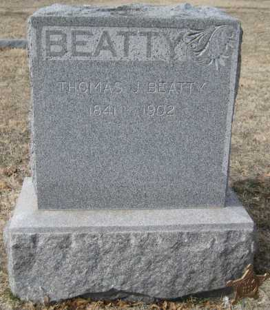 BEATTY, THOMAS - Saline County, Nebraska | THOMAS BEATTY - Nebraska Gravestone Photos