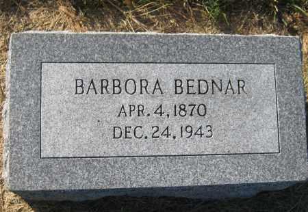 BEDNAR, BARBORA - Saline County, Nebraska | BARBORA BEDNAR - Nebraska Gravestone Photos