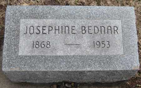 BEDNAR, JOSEPHINE - Saline County, Nebraska | JOSEPHINE BEDNAR - Nebraska Gravestone Photos