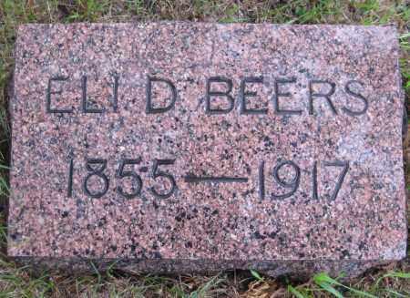 BEERS, ELI D. - Saline County, Nebraska | ELI D. BEERS - Nebraska Gravestone Photos