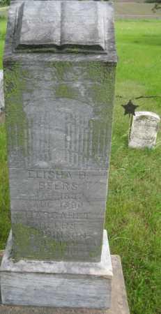 BEERS, ELISHA B. - Saline County, Nebraska | ELISHA B. BEERS - Nebraska Gravestone Photos
