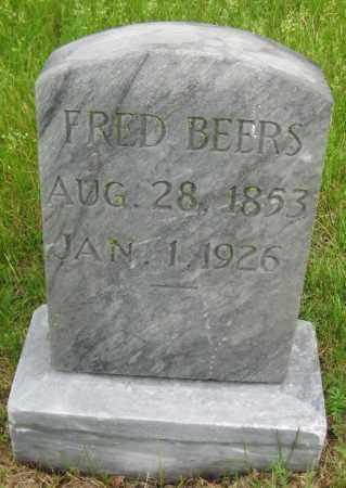 BEERS, FRED - Saline County, Nebraska | FRED BEERS - Nebraska Gravestone Photos