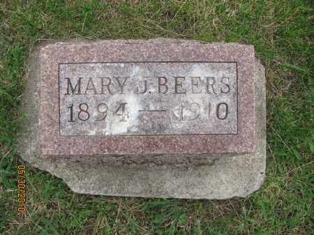 BEERS, MARY J. - Saline County, Nebraska | MARY J. BEERS - Nebraska Gravestone Photos