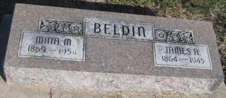 BELDIN, JAMES A. - Saline County, Nebraska | JAMES A. BELDIN - Nebraska Gravestone Photos