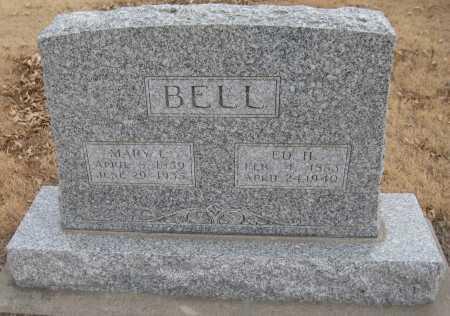 BELL, MARY L. - Saline County, Nebraska | MARY L. BELL - Nebraska Gravestone Photos