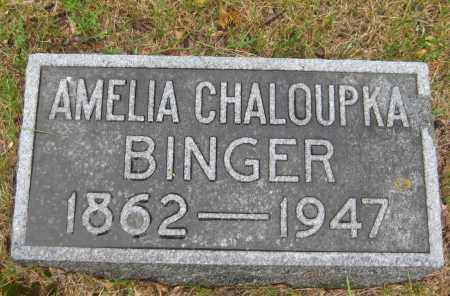 BINGER, AMELIA C. - Saline County, Nebraska | AMELIA C. BINGER - Nebraska Gravestone Photos