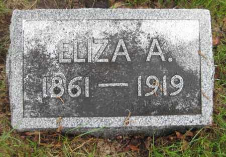 "BINGER, ELIZABETH ANN ""ELIZA"" - Saline County, Nebraska | ELIZABETH ANN ""ELIZA"" BINGER - Nebraska Gravestone Photos"