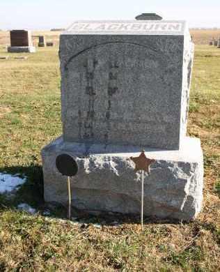 BLACKBURN, ELIZABETH - Saline County, Nebraska | ELIZABETH BLACKBURN - Nebraska Gravestone Photos