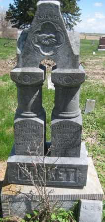 BORKET, FAMILY STONE - Saline County, Nebraska | FAMILY STONE BORKET - Nebraska Gravestone Photos