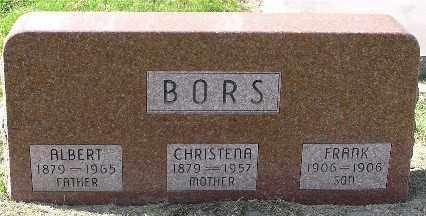 NOVAK BORS, CHRISTENA - Saline County, Nebraska   CHRISTENA NOVAK BORS - Nebraska Gravestone Photos