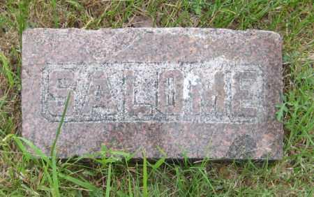 BOWMAN, SALOME - Saline County, Nebraska | SALOME BOWMAN - Nebraska Gravestone Photos