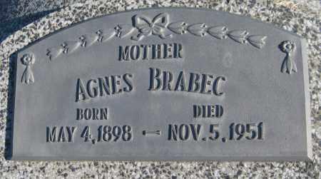 BRABEC, AGNES - Saline County, Nebraska | AGNES BRABEC - Nebraska Gravestone Photos