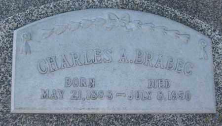 BRABEC, CHARLES ANTON - Saline County, Nebraska   CHARLES ANTON BRABEC - Nebraska Gravestone Photos