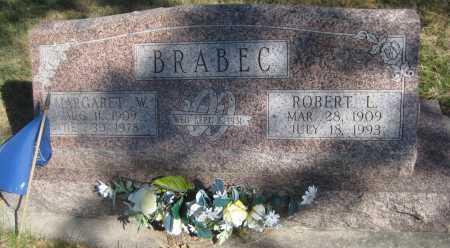 BRABEC, MARGARET WILHELMINA - Saline County, Nebraska | MARGARET WILHELMINA BRABEC - Nebraska Gravestone Photos