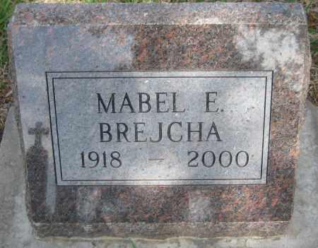 JELINEK BREJCHA, MABEL E. - Saline County, Nebraska | MABEL E. JELINEK BREJCHA - Nebraska Gravestone Photos