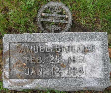 BROLLIAR, SAMUEL - Saline County, Nebraska   SAMUEL BROLLIAR - Nebraska Gravestone Photos