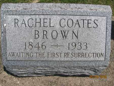 BROWN, RACHEL SUSANNAH - Saline County, Nebraska   RACHEL SUSANNAH BROWN - Nebraska Gravestone Photos