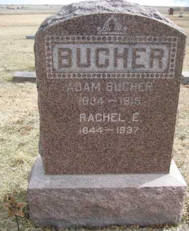 BUCHER, RACHEL E. - Saline County, Nebraska | RACHEL E. BUCHER - Nebraska Gravestone Photos