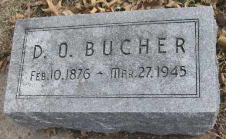 BUCHER, D. O. - Saline County, Nebraska   D. O. BUCHER - Nebraska Gravestone Photos
