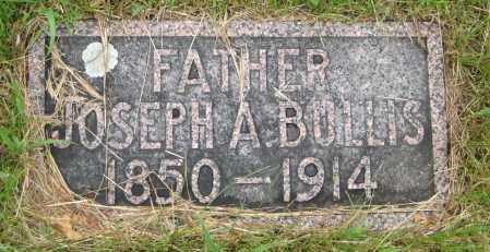 BULLIS, JOSEPH A. - Saline County, Nebraska | JOSEPH A. BULLIS - Nebraska Gravestone Photos