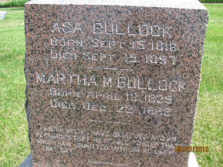 BULLOCK, MARTHA M. - Saline County, Nebraska | MARTHA M. BULLOCK - Nebraska Gravestone Photos