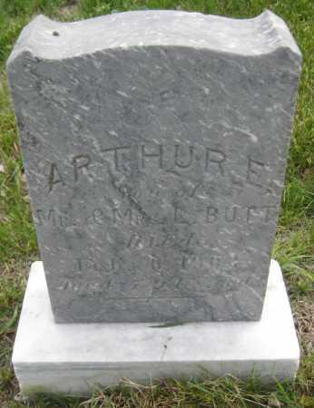 BUTT, ARTHUR E. - Saline County, Nebraska | ARTHUR E. BUTT - Nebraska Gravestone Photos