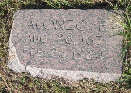 CALDWELL, ALONZO P. - Saline County, Nebraska | ALONZO P. CALDWELL - Nebraska Gravestone Photos