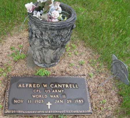 CANTRELL, ALFRED W. - Saline County, Nebraska | ALFRED W. CANTRELL - Nebraska Gravestone Photos