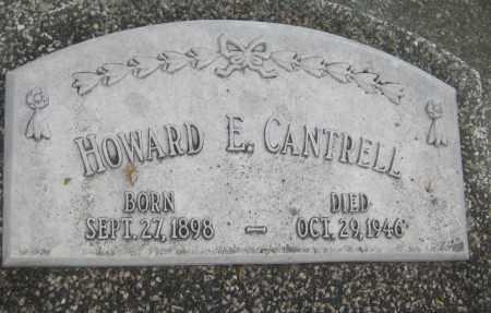 CANTRELL, HOWARD E. - Saline County, Nebraska   HOWARD E. CANTRELL - Nebraska Gravestone Photos