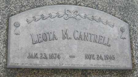 CANTRELL, LEOTA M. - Saline County, Nebraska   LEOTA M. CANTRELL - Nebraska Gravestone Photos
