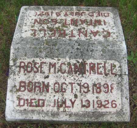 CANTRELL, ROSE M. - Saline County, Nebraska | ROSE M. CANTRELL - Nebraska Gravestone Photos
