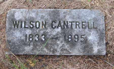 CANTRELL, WILSON - Saline County, Nebraska | WILSON CANTRELL - Nebraska Gravestone Photos