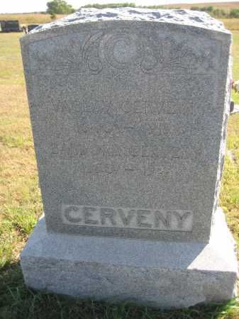 CERVENY, BARBORA - Saline County, Nebraska | BARBORA CERVENY - Nebraska Gravestone Photos